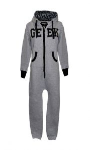 Unisex GEEK Onesie with Hood